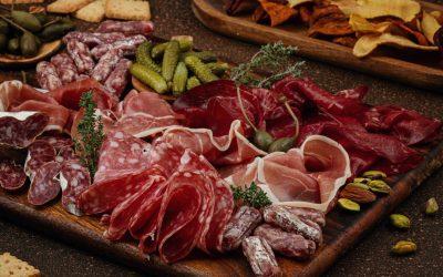 Manger français avec l'une des spécialités de notre pays