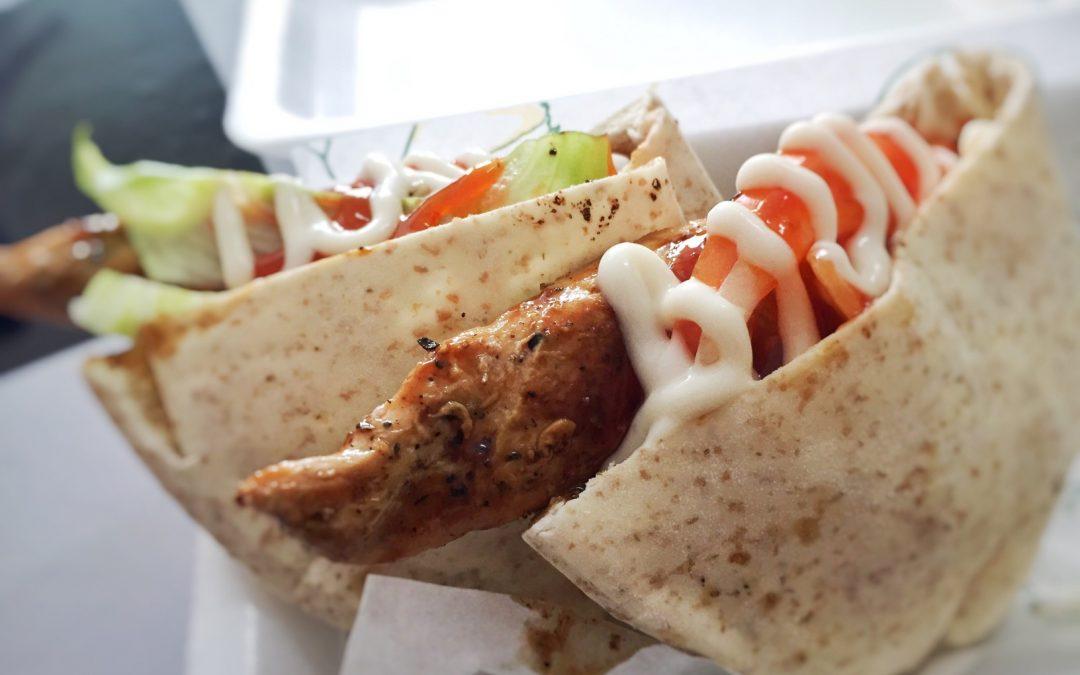 La nouvelle manière de manger un kebab